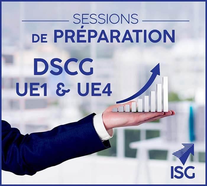 Sessions de préparation au DSCG (UE 1 & UE 4)